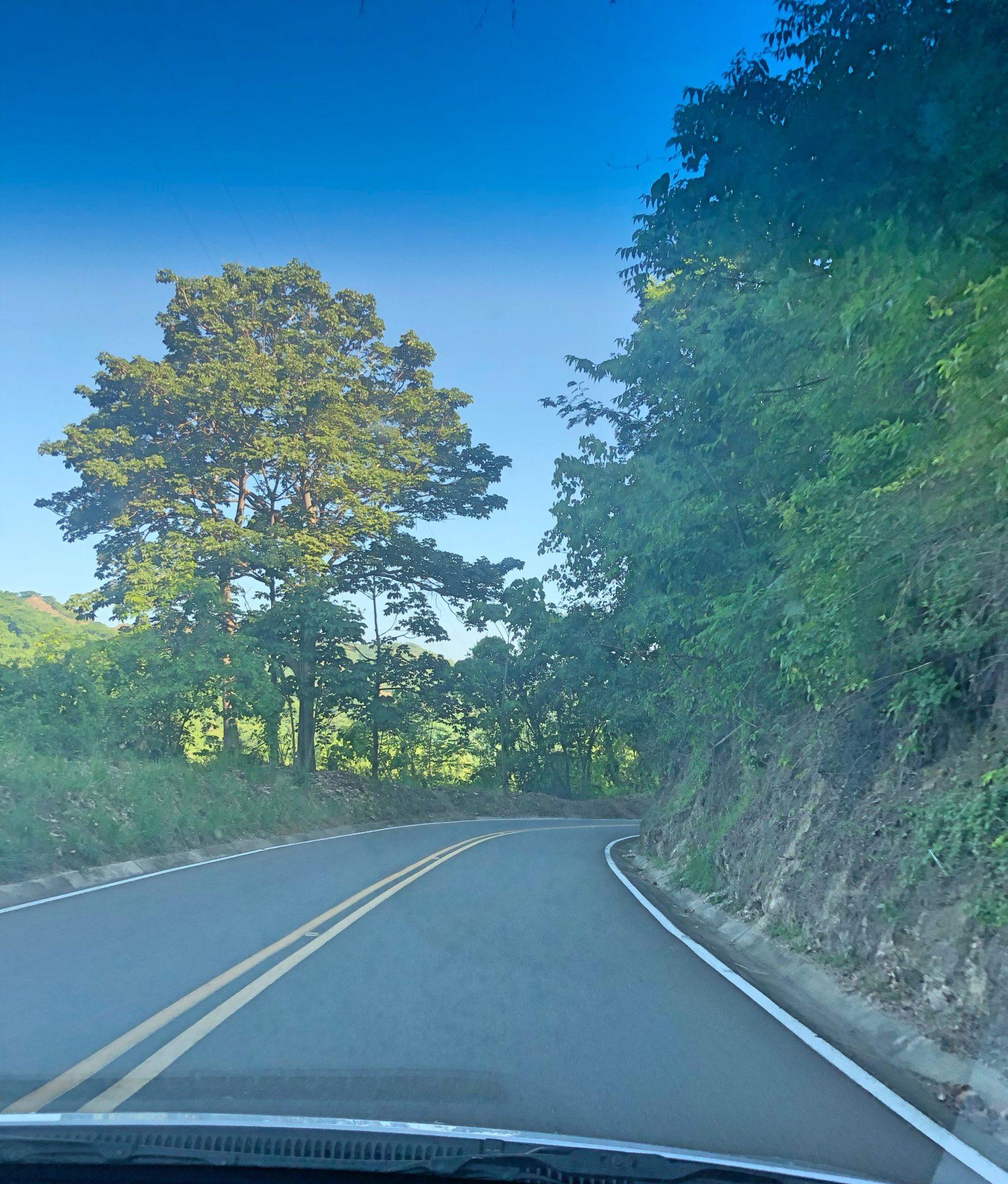 carretera minca